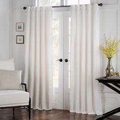 Havana Rod Pocket/Back Tab Window Curtain Panel