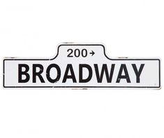 Nástenná dekorácia Broadway Broadway