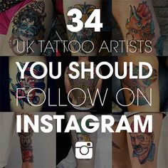 34 Incredible UK Tattoo Artists To Follow On Instagram