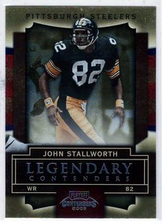 2592497a9 2009 Playoff Contenders (Legendary Contenders) John Stallworth   54 -  Football Trading Cards