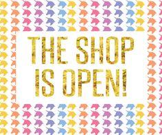 lularoe shop is now open graphic design