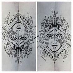 Best Old School Tattoo Ideas. We have a photo gallery featuring cool and meaningful tattoo ideas. And in case you are curious, discover the brief history of tattoo art, as well. Visit our Website for more coll tattoos and everything about tattoos. Hand Tattoos, Neotraditionelles Tattoo, Berg Tattoo, Ambigram Tattoo, Demon Tattoo, Tattoo Drawings, Sleeve Tattoos, Traditional Tattoo Knee, Traditional Roses