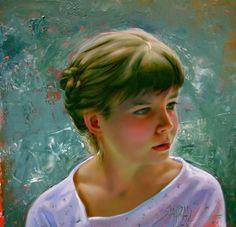 Por amor al arte: Shahrzad Hazrati Portraits, Portrait Art, Jean Delville, Katherine Stone, Andrew Jones, Hyper Realistic Paintings, Luis Royo, Robert Mcginnis, Impressionism