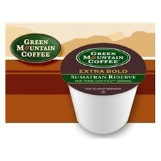 Green Mountain Fair Trade Organic Sumatran Reserve Extra Bold Coffee 2 Boxes of 24 KCups -- Read more reviews of the product by visiting the link on the image.