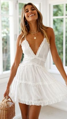 Marriage Gown White One Shoulder Dress Toddler Dresses White Poofy Dress - Marriage Gown White One Shoulder Dress Toddler Dresses White Poofy Dre – inloveshe Source by - Short Summer Dresses, White Dress Summer, White Mini Dress, Short White Dresses, White Dress Casual, White Sundress, White Spring Dresses, Cute Dress For Summer, Short Casual Dresses