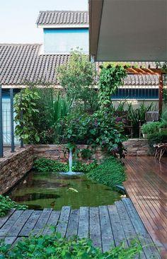 Jardim Segue Princípios Do Feng Shui Para Cultivar O Bem Estar