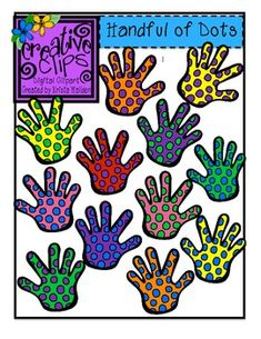 FREE!! Handful of Dots clipart for personal or commercial use :)
