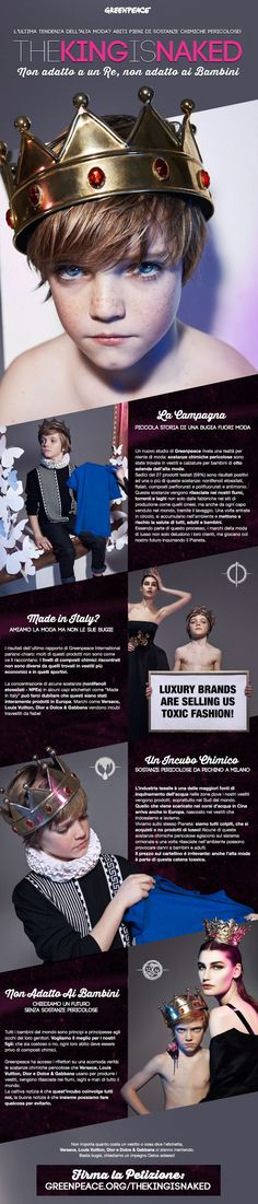 firma la petizione di greenpeace contro le sostenze chimiche nei vestiti dei più piccoli http://ecodelleco.blogspot.it/2014/02/petizione-moda-sicura-greenpeace.html