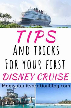 These tips for Disney cruise first timers take you from the planning process to debarkation day. Read about special requests to make and packing hacks! Disney Cruise Tips, Disney Vacation Planning, Disney Vacations, Castaway Cay, Disney Fantasy, Travel Party, Guest Services, Ways To Travel, Disney Dream