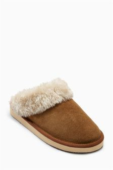 Suede Mules (906005G41) | £18