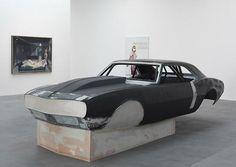 Elvis by Richard Prince, car body art sculpture