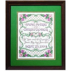 Bucilla To Love And To Cherish 8-Inch-by-10-Inch Counted Cross Stitch Kit, 14-Count by Bucilla, http://www.amazon.com/dp/B00114Q7YC/ref=cm_sw_r_pi_dp_z9d-rb06WGD08
