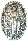 Free Miraculous Medal  The Story of the Miraculous Medal  St. Catherine Labourè  The Apparition Chapel at Paris