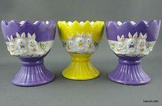 antique eggs cups - Google Search