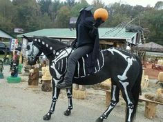 Headless Horseman & Horse costume-