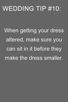 tips for wedding dresses