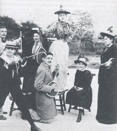 If you can't share a photograph of Marcel Proust playing air-guitar with a tennis racket on the opening day of Wimbledon, when can you?