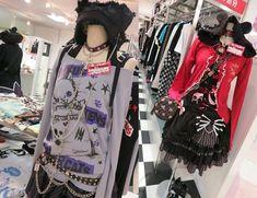 putumayo top, jrock clothes for sale, visual kei fashion Harajuku Fashion, Punk Fashion, Lolita Fashion, Fashion Tips, Skull Fashion, Fashion Ideas, Japanese Punk, Japanese Fashion, Scene Outfits