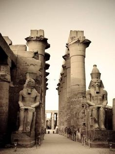 Photographic Print: Poster of Egypt, Luxor, Luxor Temple by Michele Falzone : 24x18in