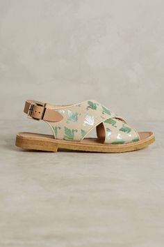 Slide View: 2: Penelope Chilvers Fleur De Lis Sandals