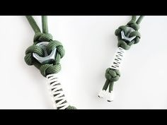 How to Make a Hex Nut Paracord Keychain Lanyard Tutorial - YouTube