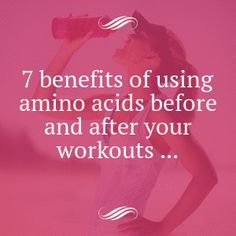 7 Benefits of Using Amino Acids before and after Your Workouts ...this is why I LOVE my Catalyst!