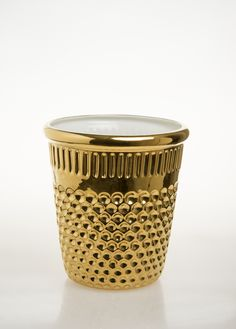 InDito vaso GOLD edition Ceramica