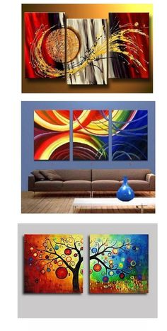 Extra large hand painted art paintings for home decoration. Large wall art, canvas painting for bedroom, dining room and living room, buy art online. Canvas Paintings For Sale, Texture Painting On Canvas, 3 Piece Canvas Art, Abstract Canvas Wall Art, Abstract Art For Sale, Hand Painting Art, Online Painting, Simple Paintings, Paintings Online
