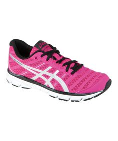 Look what I found on #zulily! Neon Pink & Silver GEL-Zaraca 2 Running Shoe by ASICS #zulilyfinds