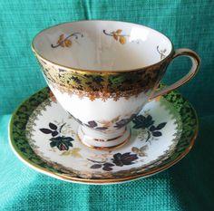 Vintage Bone China Cup & Saucer by Royal Tara of The Irish Republic