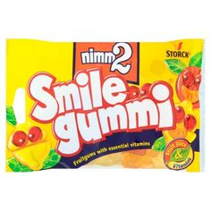 Smile gummi ovocné želé s obsahem vitaminů Mini Stuff, Snack Recipes, Snacks, Vitamins, Chips, Smile, Candy, Fruit, Food