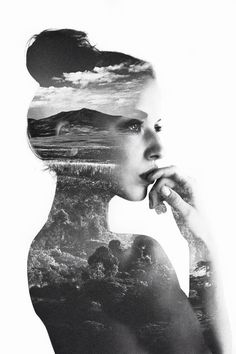 These double exposures are gorgeous