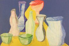 Vases in pencil - Artsonia Lesson Plan
