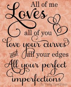 SVG, DXF & PNG - All of me loves all of you love your curves and all your edges