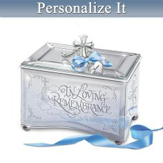 In Loving Remembrance Personalized Bereavement Music Box from Bradford Exchange on Catalog Spree, my personal digital mall.
