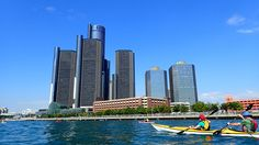 One of the things that is great about the water trail is you can be paddling in downtown Detroit with skyscrapers on one side and thousand-foot long ships on the other. You'll see beavers and bald eagles on other sections of the river. At the southern end, it's like you're up north. The trail's both urban and wild.