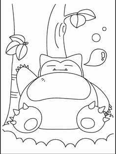 Printable Pokemon Coloring Pages For Your Kids. Pokemon are cute monster characters that are popular among children. Pokemon Coloring Sheets, Pikachu Coloring Page, Emoji Coloring Pages, Online Coloring Pages, Flower Coloring Pages, Free Coloring Pages, Printable Coloring Pages, Coloring Books, Adult Coloring