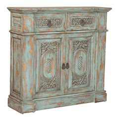 Vintage French Hall Chest