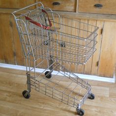 Grocery Shopping Cart Vintage by lisabretrostyle2 on Etsy, $165.00
