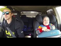 This Baby Went Drifting With His Dad And Had The Best Time Ever