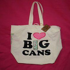 Arizona Ice Tea I Heart Big Cans Large Canvas Tote | eBay