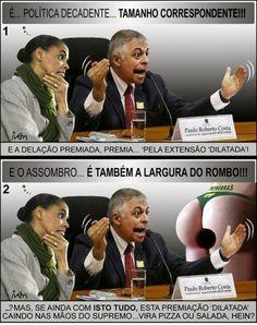 """Charge, feita quando do surgimento do """"PETROLÃO""""...(e relembrando agora  > www.comreno.com/#!charges/c1060"""