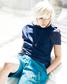 NU'EST Ren Vogue Girl Magazine