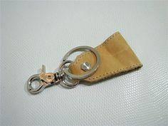 Leather Key Chain/ Leather Key Holder/ Key Chain by Thesac76, $7.00