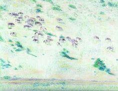 "Saatchi Art Artist Robert Lee; Drawing, ""Cattle by Robert S. Lee (Sketchbook p. 148)"" #Robert #S. #Lee #drawing #art #artist #color #colour #Greece #Greek #Apostle #Paul #landscape #cattle"