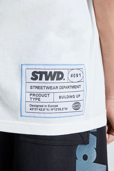 Tee Design, Label Design, Mens Sweatshirts, Mens Tees, Nasa Clothes, T Shirt Branca, Shirt Label, Clothing Labels, Apparel Design