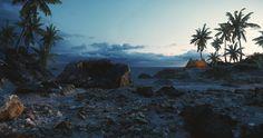 Stunning CryEngine beach scene in CE5 by Crytek's Senior Lighting artist. http://ift.tt/2eGkpq1
