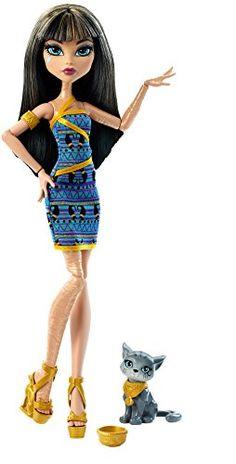 Monster High Cleo De Nile Doll with Kitten Monster High…