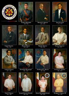 Presidents of the Philippines #Philippines #Pilipinas #Pinoy #Pinas #Filipino #Filipina #Asia #Asian #leaders #history