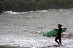 El mar... el surfing...